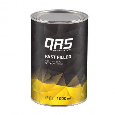 Podkład FAST FILLER 4:1 szary QRS 1000 ml