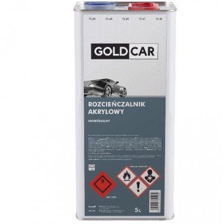 Rozcieńczalnik akrylowy uniwersalny Goldcar 5l