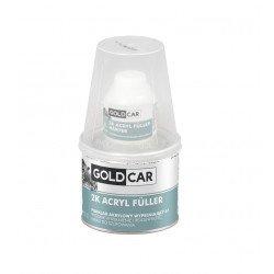 Podkład akrylowy 2K 5:1 szary Goldcar 480ml kpl