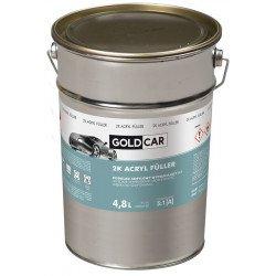 Podkład akrylowy 2K 5:1 biały Goldcar 4,8ml kpl z utwardzaczem