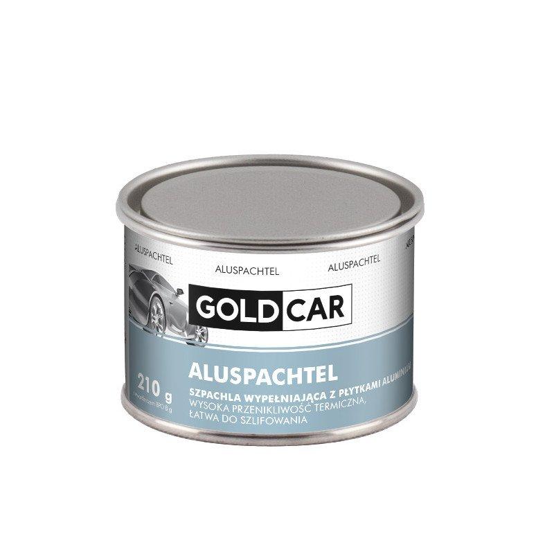 Szpachla Alu z płytkami aluminium wypełniająca Goldcar 210g