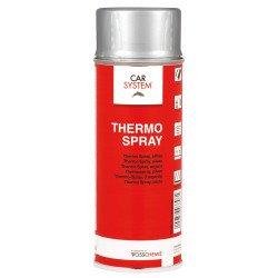 Farba termo odporna na temp do 650st C srebrna spray Carsystem
