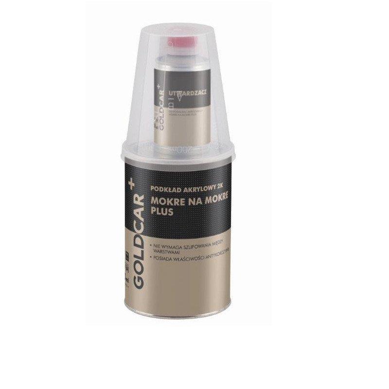 Podkład akrylowy mokre na mokre plus 2K 6:1 szary Goldcar