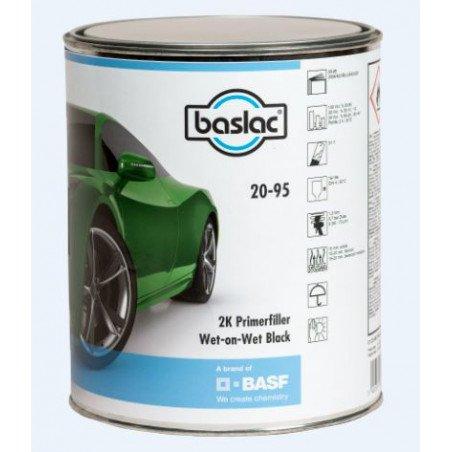 Podkład BASLAC Primerfiller czarny 20-95 2K mokre na mokre 3l