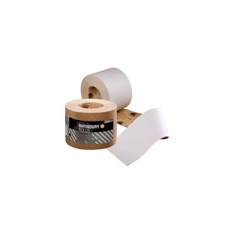 Rolka Indasa biała RHYNALOX 115mm x 50m P120